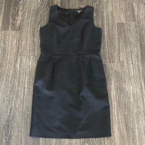 Sz 10 Brooks Brothers jacquard shift dress